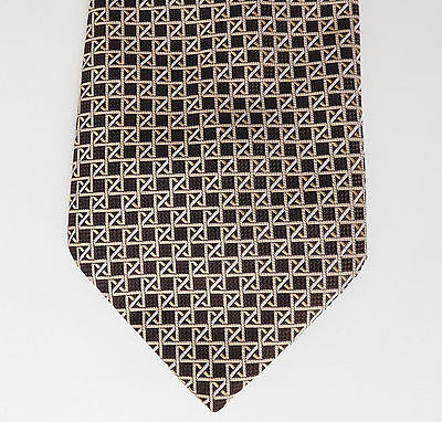 Kipper tie vintage 1970s 4.5 inch wide St Michael Marks & Spencer classic check