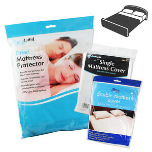 Mattress Cover Sheet Single Double Bed Protective