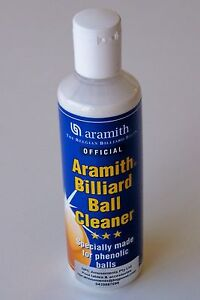 Aramith Pool Snooker Billiard Cue Ball Balls Cleaner