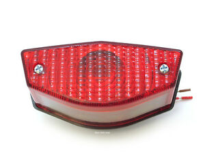 Motorcycle-Taillight-Assembly-12-Volt-Universal-DOT-APPROVED-Tail-Light-Bike