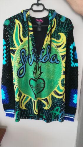 Originale Tunique En Crochet 2 Custo Femme Taille 40 38 Manches Coton rrwqagnB