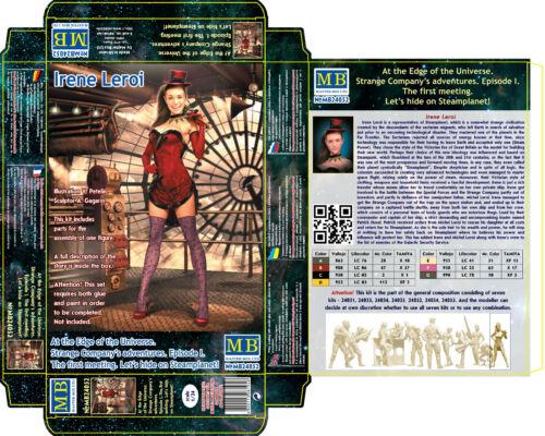 Irene Leroi At Edge of the Universe.Strange Company/'s  1//24 Master Box 24052