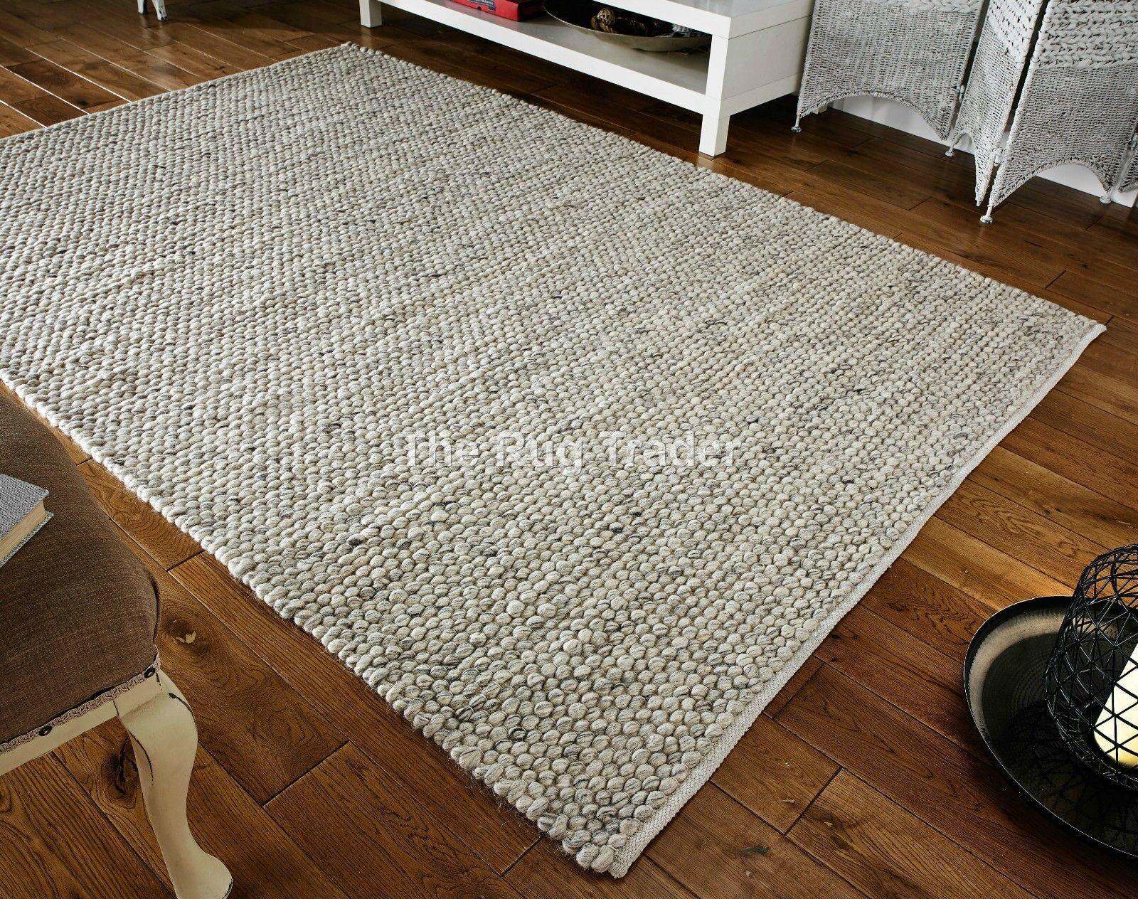 Savannah gris COLORÉ MAIN LAINE GROS laine laine laine Tapis en tailles variées | Approvisionnement Suffisant Et Une Livraison Rapide  064d33
