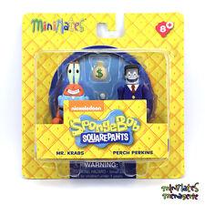 Spongebob Squarepants Minimates Series 1 Mr. Krabs & Perch Perkins
