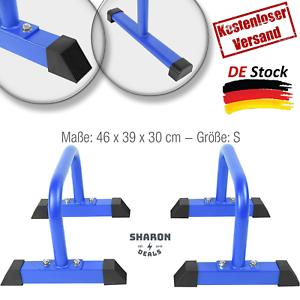 2er Set Dip Barren 46 x 39 x 30 cm bis 200 kg belastbar Blau Neu Produkt