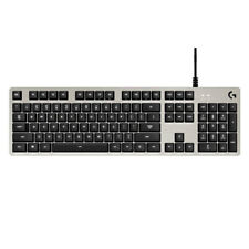 Logitech G413 Mechanical Keyboard Gaming-Tastatur white/silver Gaming-Modus