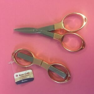 Hemline Folding Craft Scissors H353.F