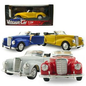 1 24 vintage die cast classic model car kid child pull back toy collection gift ebay. Black Bedroom Furniture Sets. Home Design Ideas