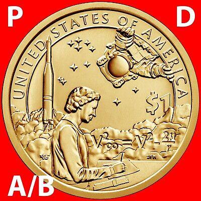 2010 Sacagawea Dollars P D Position A/&B-Four Coins