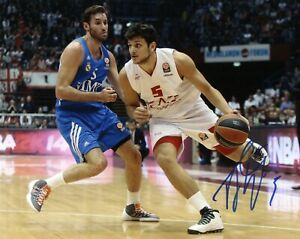 Alessandro-Gentile-Autograph-Hand-Signed-Photo-Basketball-Authentic-Coa-Sport
