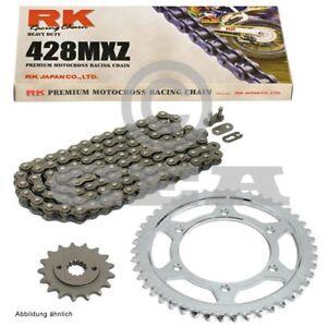 Kit-Chaine-Rieju-Smx-125-05-10-Chaine-RK-428-Chaussures-Lac-Mxz-138-Ouvrir-14-48