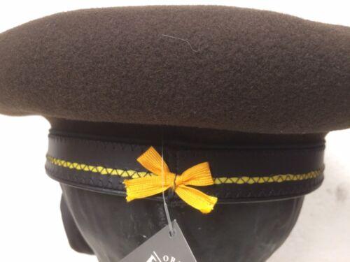 Brown Trim Diameter Beret And Campan Distinctive Yellow Laulhere 10 Bow zIwqdPd