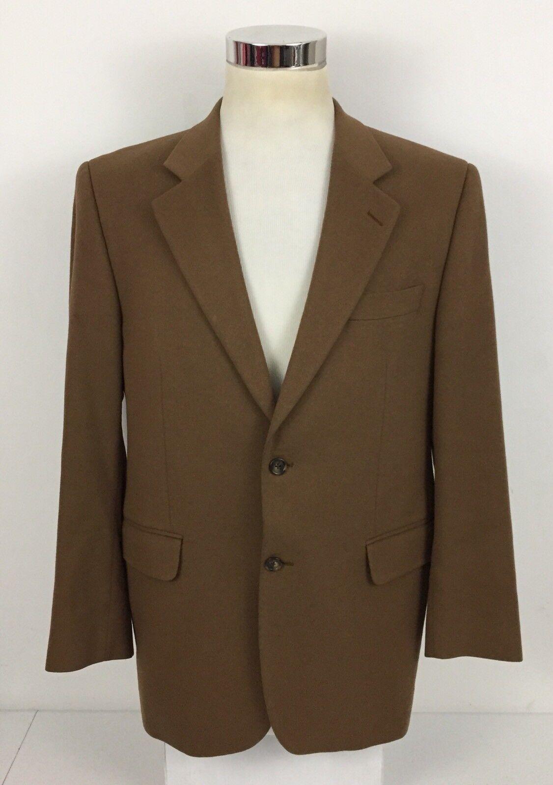 Loro Uomo Piana Ambassador Uomo Loro 42R Blazer Sport Coat 100% Cashmere 2 Buttons 3cb6e8
