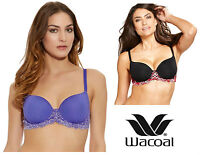 Wacoal Embrace Lace Moulded Underwired Contour Bra 853191 Various Colours
