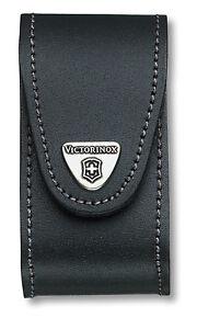 Victorinox - Etui Cuir Noir Pour Couteaux 91mm 15 A 23 Pièces - 4.0521.3