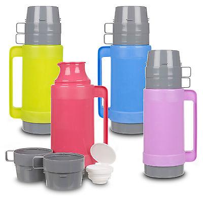 Appena 1l Isolato Caldo & Freddo Cibo Bere Vuoto Thermos Campeggio Bottiglia Tazza Colazione Pallone- Squisita (In) Esecuzione