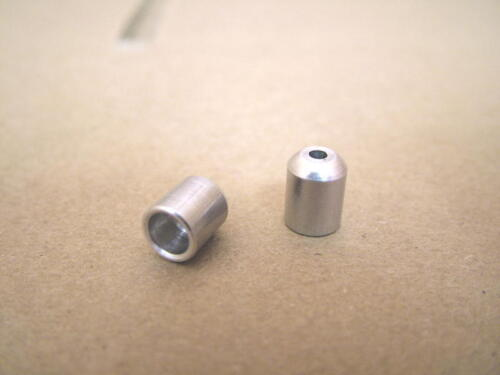 New-Old-Stock Aluminum Alloy Cable Housing Stops//Ferrules Two Aero 2