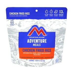 Mountain House Chicken Fried Rice 2-Serving Entree Freeze Dried Camping Food