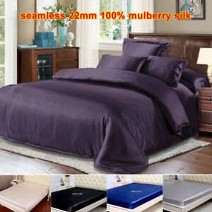 Seamless-22mm-100-Mulberry-Silk-Extra-Deep-Fitted-Bottom-Sheet-Sisters-Silk