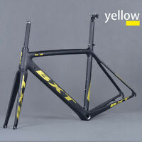Aero Road Frame Di2 Carbon Road Bike Frame 50/53/55 Frame+fork+headset+seatpost