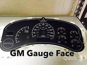 GAUGE 03 04 05 Silverado Speedometer also fits Tahoe,Suburban