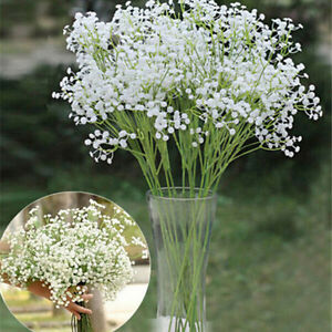1x-Kuenstliche-gefaelschte-Gypsophila-Seide-Blumen-Pflanzen-Hochzeit-Dekor