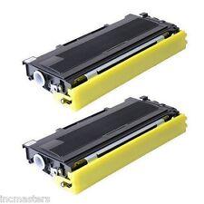 2 Pack Compatible Black Toner  for Brother MFC 7420 (N)/ 7820 (N)/ TN-2000