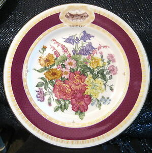 Great-Royal-Horticultural-Society-Chelsea-Flower-Show-Plate-1984-Minton