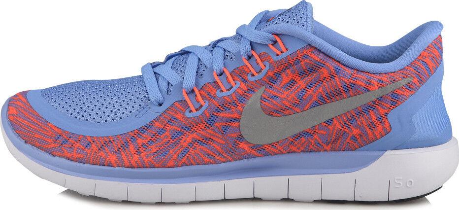 Los 5.0 hombres de Nike Free 5.0 Los imprimir 749593 408 talla 7 - 8 Training running zapatos cc24a7