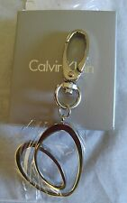 Silver Heart Charm Keychain Calvin Klein Newest Model 2016 FOB clasp in Gift Box