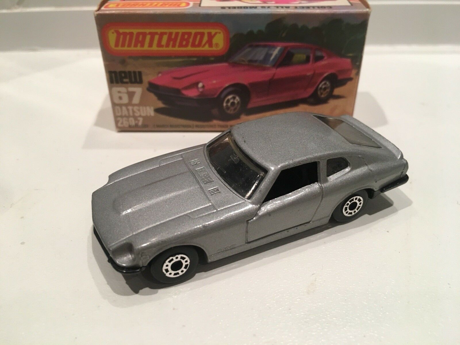 Matchbox superfast Datsun No67 Boxed.  Very Rare Version.