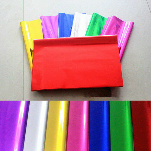 4PCS Shiny Metallic Foil Gift Wrapping Sheets Christmas Present Package Paper