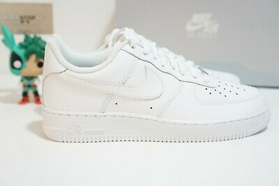 Nike AIR FORCE 1 '07 Low All White 314192 117 315122 111 GS
