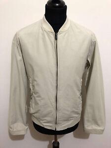 99076bfbea Dettagli su KRIZIA UOMO Giubbotto Uomo Cotone Cotton Man Short Jacket Sz.L  - 50