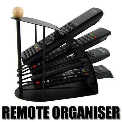 TV Remote Control Steel Organiser Universal Storage Organizer Holder Rack Stand