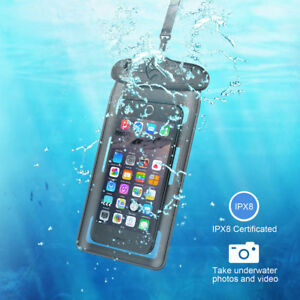 UK-Underwater-Waterproof-Case-Fluorescent-Cover-Bag-Dry-Pouch-For-Mobile-Phone