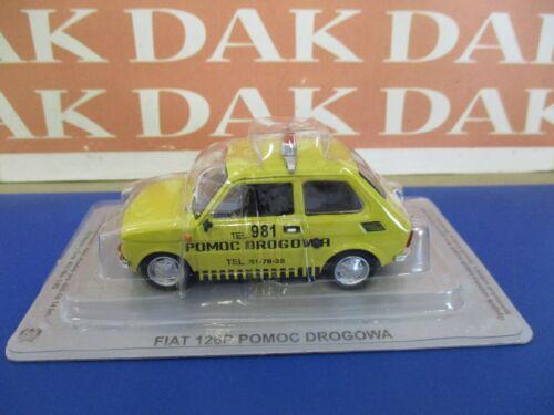 Die cast 1//43 Modellino Auto Fiat 126P Soccorso Stradale by Ist