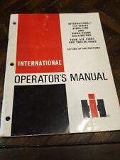 International Harvester Ih Cultivators 133 Vibra Tine Operators Manual