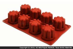 8 coeurs Paderno  FlexipadMoule flexible en silicone