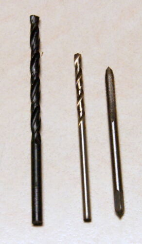 USA Shipping M3 Tap and 2.5mm 3.3mm Drill Set