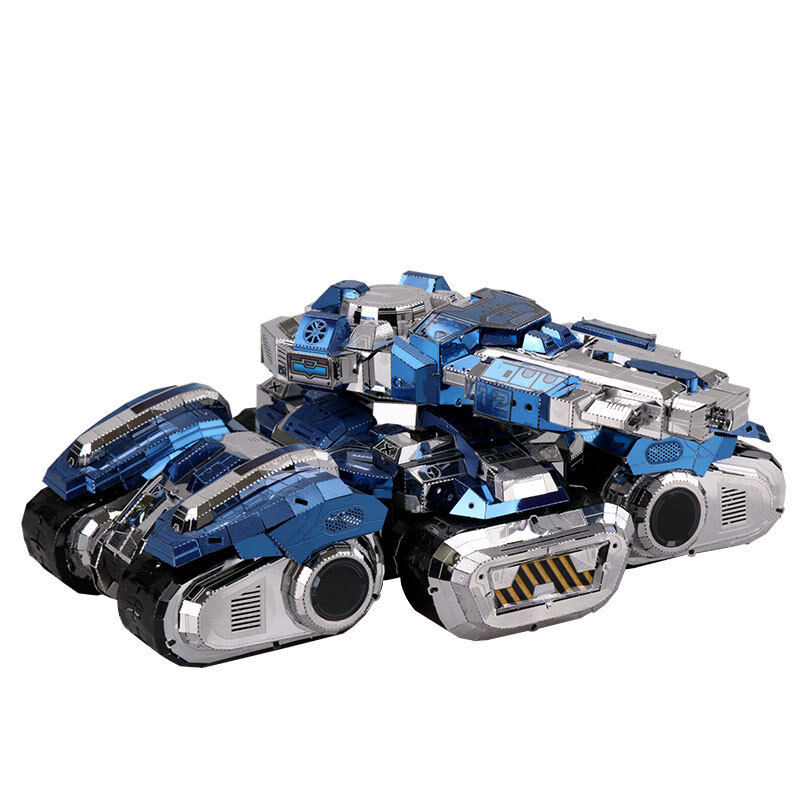 New MU 3D Metal Nano Puzzle Star Craft Craft Craft Siege Tank Model Assemble Jigsaw Toys d87bf3
