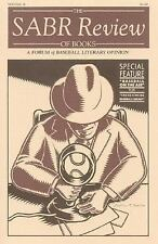 The SABR Review of Books Vol. 2 : A Forum of Baseball Literary Opinion by...