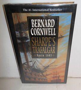 BOOK-Historical-Fiction-Sharpe-039-s-Trafalgar-by-Bernard-Cornwell-op-1st-Ed-HB-dj
