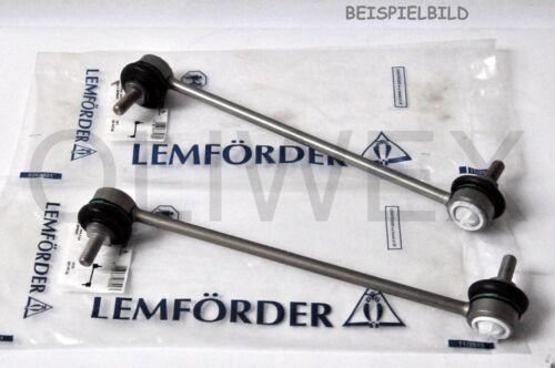 2x LEMFÖRDER KOPPELSTANGE MERCEDES E-KLASSE LMI25039+LMI25040 VORNE LINKS+RECHTS