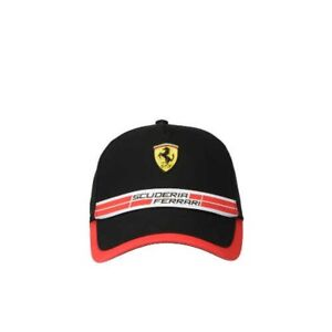 4f744b9be Scuderia Ferrari Cap With Icon Tape 42689 Black From Japan with ...