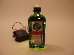 Jaegermeister-Flaschen-Lampe-24-LED-Batterie-od-Akkubetrieb-versch-Effekte
