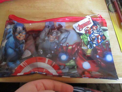 Marvel Avengers Licensed PVC Flatline Pencil Case Design 2