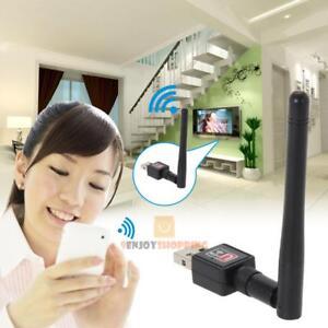 150M-USB-WIFI-Wireless-LAN-Adapter-Long-Range-2dBi-Antenna-for-Desktop-Computer
