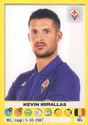 CALCIATORI PANINI 2018/2019 - KEVIN MIRALLAS - FIGURINA N. 164 (FIORENTINA) | eBay