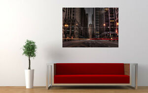 CHICAGO-DARK-STREETS-NEW-GIANT-LARGE-ART-PRINT-POSTER-PICTURE-WALL-33-1-034-x23-4-034
